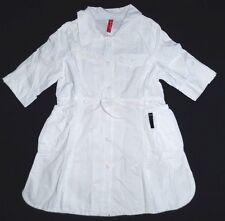 Didi Holland Girls White Cotton Dress size 110/116 5/6 years
