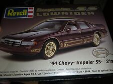 Revell 1994 Chevy Impala SS LOWRIDER 2n1 1/25 Model Car Mountain KIT FS