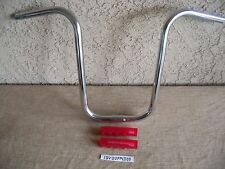 NEW BICYCLE 20'' LOW-RIDER HANDLEBAR  & RED GRIPS FOR LOW RIDER,CRUISER BIKE