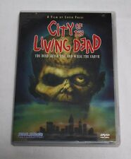 1980 Video City of the Living Dead DVD ~ Lucio Fulci Rare Gore Cult Zombies