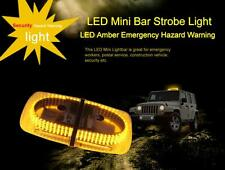 Yellow & Amber Light Bar Roof Top Emergency Hazard Warning Flash Strobe 240 LED