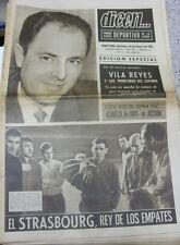 10/02/1965 dicen: No.0006 - Barcelona v Estrasburgo [entre ciudades ferias Taza] ISSU