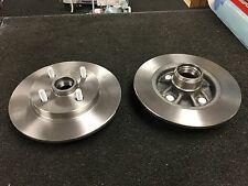 TOYOTA GLANZA STARLET EP91 EP82 TURBO REAR BRAKE DISCS BRAKE PADS NO ABS