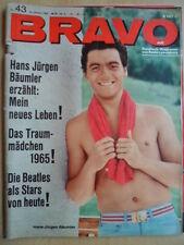 BRAVO 43 - 18.10. 1965 (1) Hans Jürgen Bäumler Bill Wyman Marie Versini BEATLES