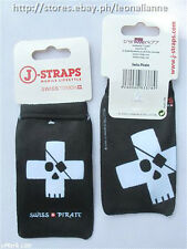 75% OFF! AUTH J-STRAPS SWISS PIRATE MOBILE PHONE SOCK BAG # 14 BNWT