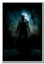 """Friday The 13th 24""""x16"""" Silk Poster Jason Voorhees With Chopper Wall Decals New"""