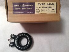 GE General Electric Current Transformer Type JAI-0 Part# 750X93G5