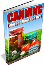 Canning and Preserving 60 Vintage Books on DVD -pickle,preserve,self-sufficiency