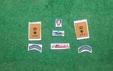 1/6 WW2 BRITISH SAS LRDG RUR col Primo Ministro Blair PADDY Mayne MEDAGLIA nastri & patch LOTTO
