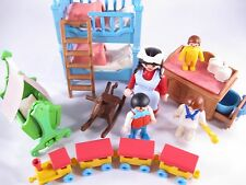 PLAYMOBIL VINTAGE 5311 CHILD'S BEDROOM VICTORIAN MANSION HOUSE 5300-100% EXCEL!