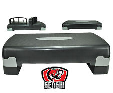 Senshi Japan Aerobica Step Stepper regolabile CROCE Esercizi Yoga Da Fitness