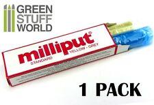 Stucco Milliput Standard Giallo/Grigio 113 gr - Colla Epossidica