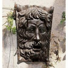 English Pub Greenman Foundry Iron Wall Sculpture Garden Frieze