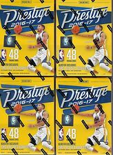 (4) 2016-17 Panini PRESTIGE Basketball NBA Trading Cards 48ct. Blaster Box LOT