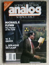 ANALOG June / July 1989 The Washer at the Ford by Michael F. Flynn (serial)