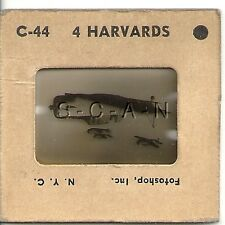 WWII US Recognition 35mm Slide Negative- Plane- Harvard North American T-6 Texan