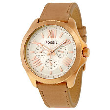 Fossil Women's Cecile AM4532 Camel Leather Quartz Watch