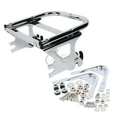 Two-up Tour Pak Pack Luggage Rack Docking Hardware Kit For Harley Touring 97-08