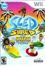Sled Shred Featuring the Jamaican Bobsled Team  (Nintendo Wii, 2010)