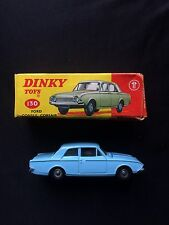 Vintage Dinky 130 Ford Consul Cosair In Original Box