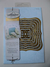 SPELLBINDERS IMPERIAL GOLD GOLD LABELS ONE (7 DIES) S4-423 BNIP