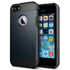 SGP Spigen Tough Armor case per iPhone 5 5S metal slate