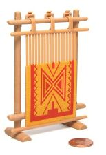 Playmobil Western Indian Camp Native American Weaving Rug w/ Frame 3733