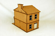 Gas Lamp Alley VICTORIAN TERRACE HOUSE MDF scale Building 28mm G045