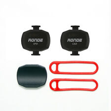 Ronde Speed and Cadence Sensor Set Ant+ For Garmin Edge 500 510 520 800 810 820