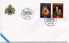 1998-09-26 San Marino Gifra ravenna ANNULLO SPECIALE Cover