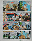 JACK KIRBY Joe Simon CAPTAIN AMERICA #8 pg 18 HAND COLORED ART Theakston 1989