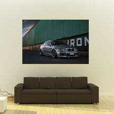 BMW M3 E46 Giant HD Poster Huge 54x36 Inch Print 137x91 cm