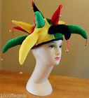 Rastafarian Rasta Notting Hill Carnival Jester Hat - Fancy Dress