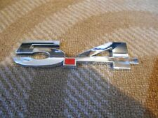 FORD MUSTANG SHELBY GT500 F150 EXPEDITION HOT ROD 5.4L FENDER EMBLEM NEW CHROME