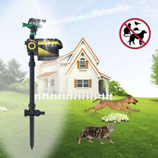 Motion Activated Animal Repeller Garden Sprinkler Scarecrow Black Hot Sale