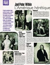 Coupure de Presse Clipping 1997 (1 page) Joel Peter Witkin
