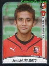 405 JUNICHI INAMOTO JAPAN STADE RENNAIS.FC STICKER FOOT 2009-2010 PANINI