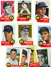 DETROIT TIGERS 1953 TOPPS ARCHIVES 16 CARD TEAM SET ,NEWHOUSER,KUENN