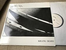 "2ND SECOND DECAY - KILLING DESIRE 12"" MAXI GERMANY HITWAVE 89 SYNTH POP DARKWAVE"