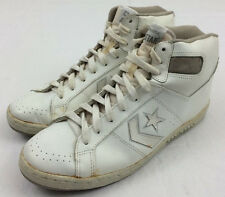 vtg 80s CONVERSE men's ALL STAR leather high top basketball sneakers SHOES sz 12