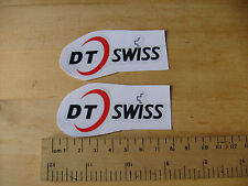 DT SWISS Bike / Mtb Decals Self Adhesive  A Pair (T2) FREEPOST WORLDWIDE