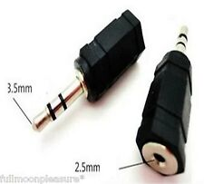 ELECTROSEX TENS ESTIM 2.5 MM - 3.5 MM ADAPTER CONVERTER JACK PLUG,UK SELLER !