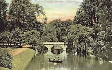 Cambridgeshire: Trinity College Bridge, Cambridge - Unposted c1900 - Valentine
