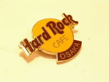 OSAKA  Classic Logo HARD ROCK CAFÉ PIN B15-240 MINT CONDITION  3 lines of inscri