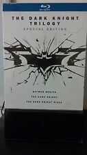 The Dark Knight Trilogy (Bluray 6 Disc set) Special Edition+Prints & Letter NEW!