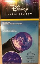 Disney Magic Holiday MultiColor PROJECTION SWIRLING SPOT LIGHT Enchanting Blue