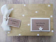 PERSONALISED MALE STAG DO WOODEN SCRAPBOOK/PHOTO BOOK /MEMORIES