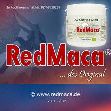 RED MACA BIO 300 KAPSELN à 925mg  aus Peru (Red Maca®)  - Ohne Trennmittel