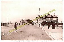 Morecambe Promenade Railway Station and Hotel Photo. Midland Railway. (18)