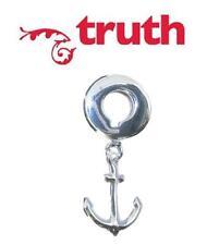 Genuine verità PK 925 argento Sterling Charm Dangle di ancoraggio Europeo Perline, Hope
